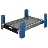 Heavy Duty Sliding Shelf (500 lbs)-Front View-115-4044