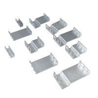 1U Adapter Kit - contains 10 brackets (2 of each shown)