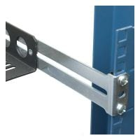 Rear Bracket for Fixed Rack Shelf-Side View-1USHL-108