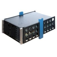HP ML350 Gen 8  mounted in 2 post rack