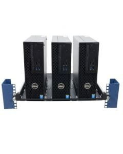 RackSolutions Dell Precision Sliding Rack Shelf for PC-Front View-115-5042