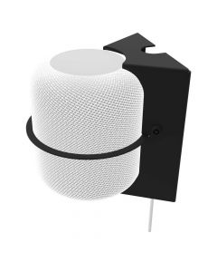 Secure HomeBase Wall Mount for Apple HomePod - White HomePod