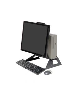 Front view with keyboard - Universal All-In-One
