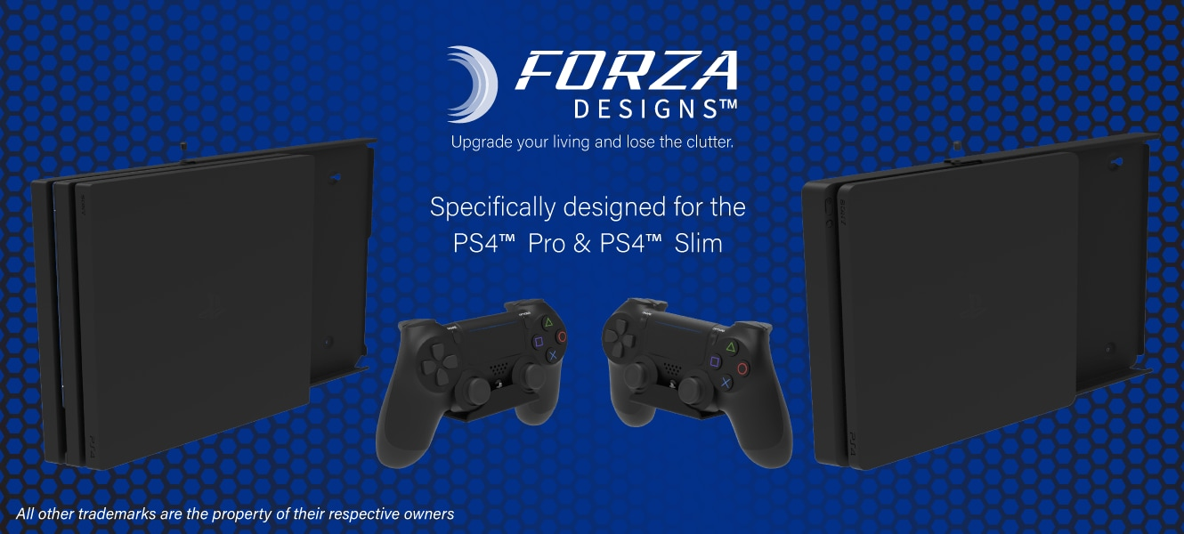 Forza Designs Console Mountings for PS4