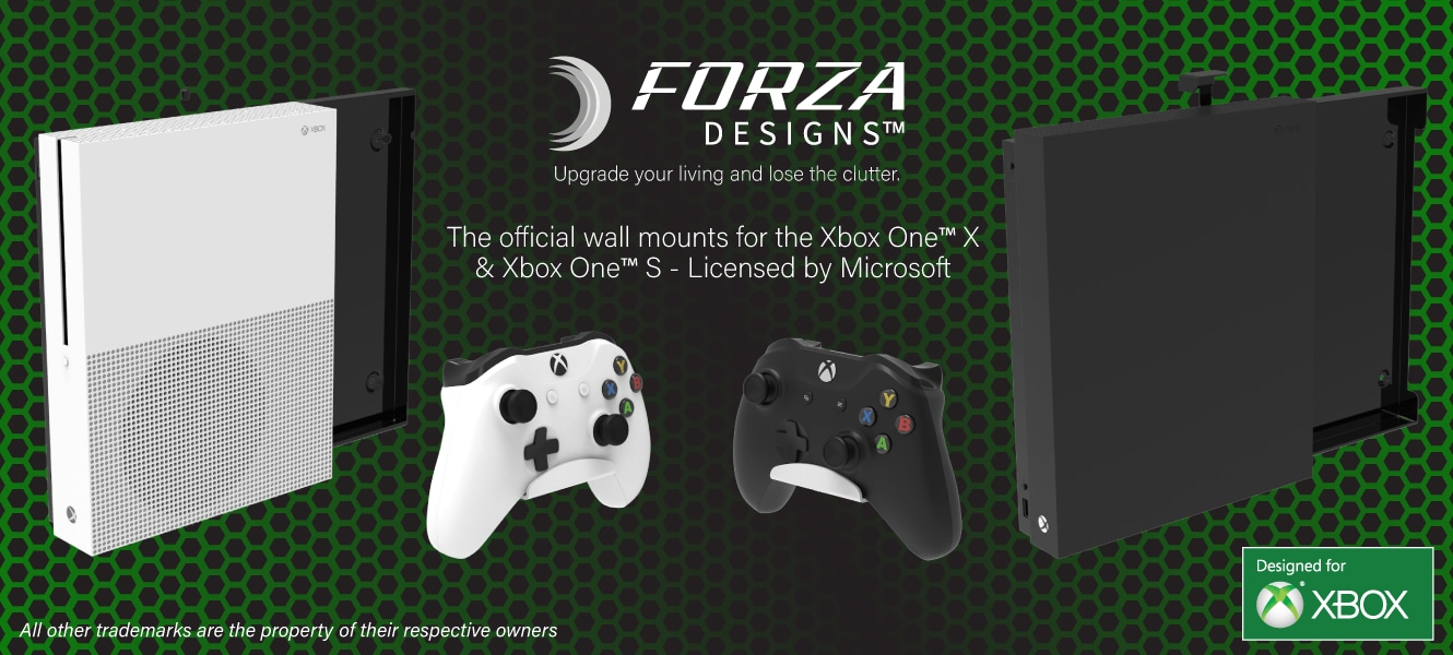 Forza Designs Console Mountings for Xbox