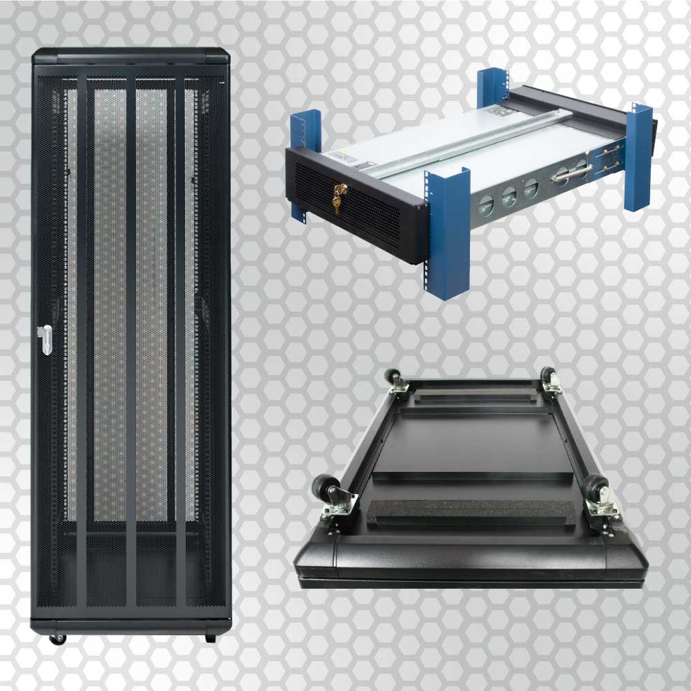 There are tons of rack features and accessories that people need for unique reasons