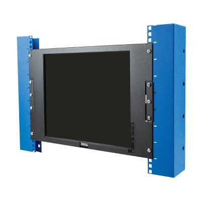 Mounts provide a place to mount your monitor inside your rack and on the wall.