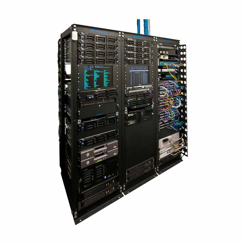 RackSolutions Rack-111 Installation Example