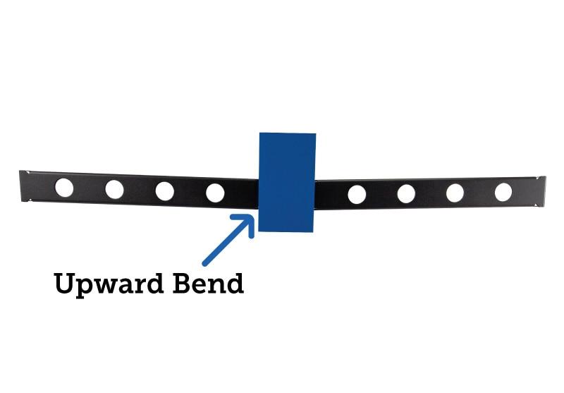 1U Conversion Kit Upward Bend