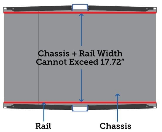 Chassis and Rail Width Instructions