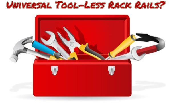 What are the Best Universal Tool-less Rack Rails? - RackSolutions