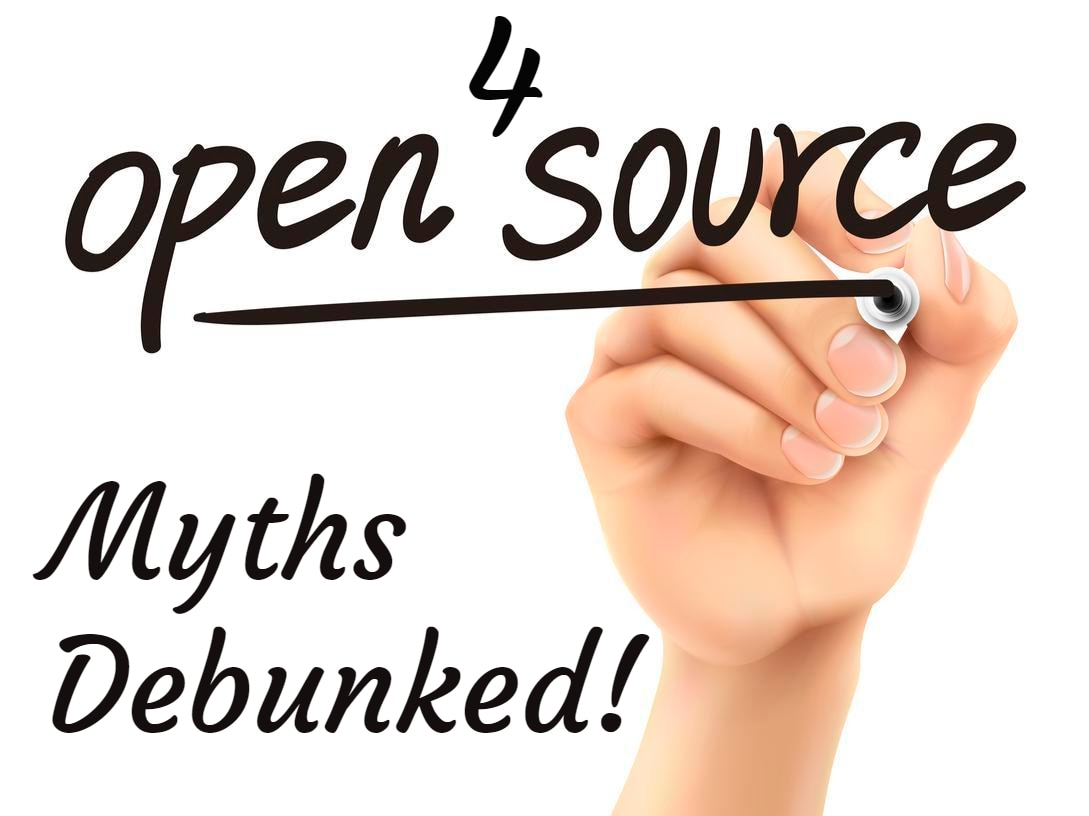 4 Open Source Myths- Debunked!!! - RackSolutions