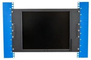 Flush mount rack monitor