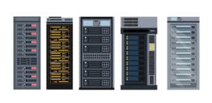 Open Frame Server Racks vs Wall Mount Racks - RackSolutions