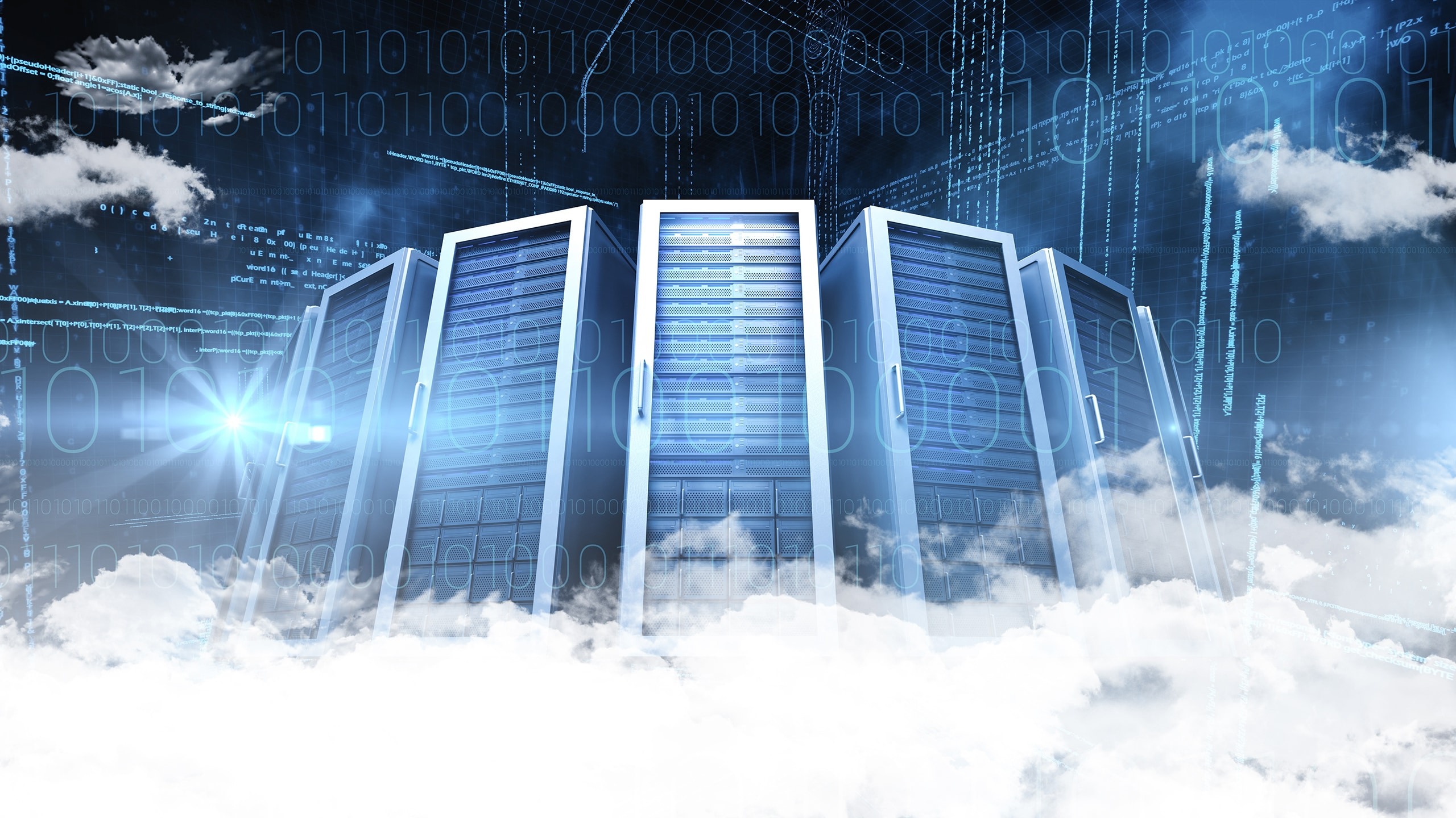 Data center in clouds