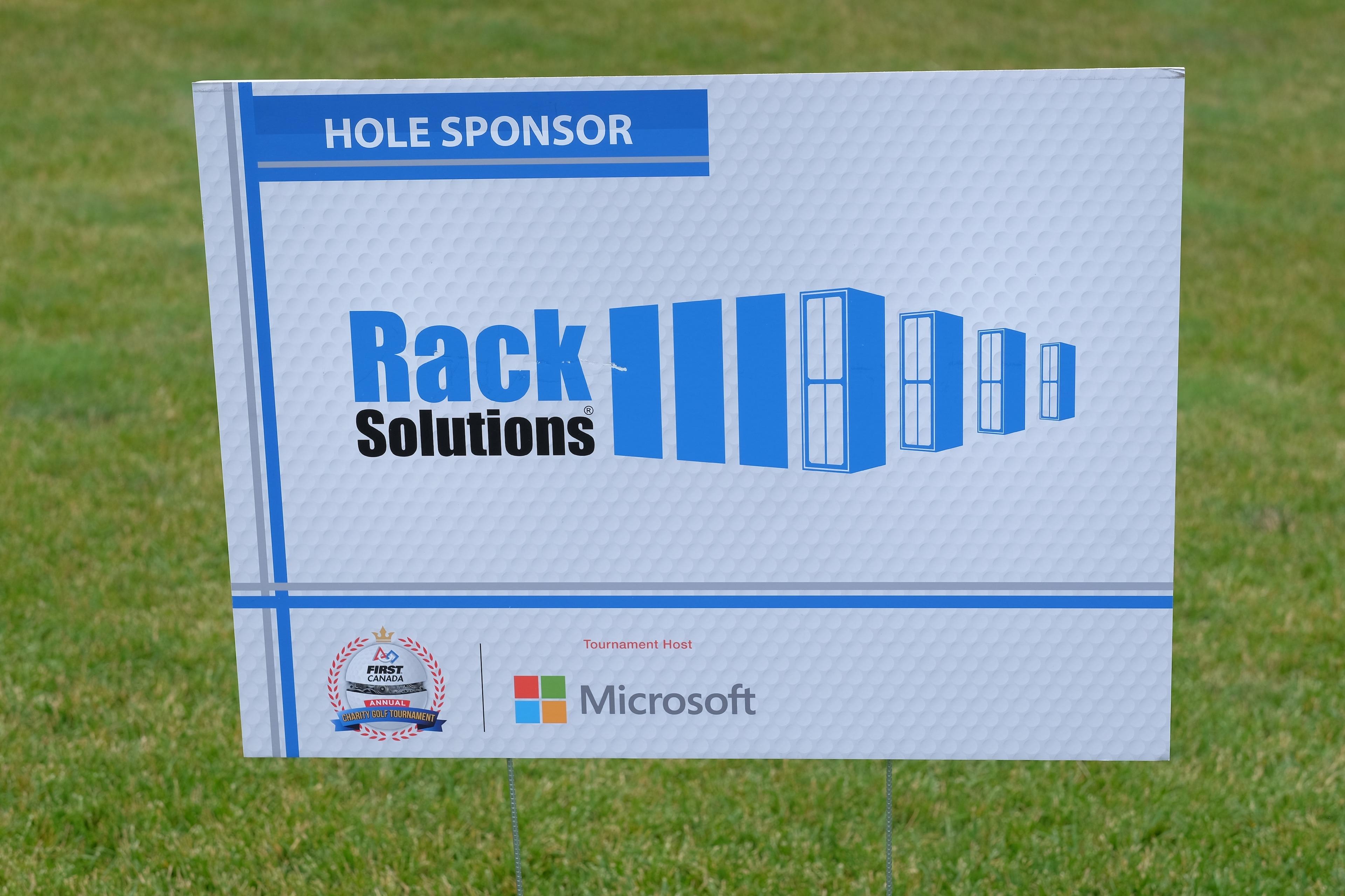 RackSolutions Hole Sponsor