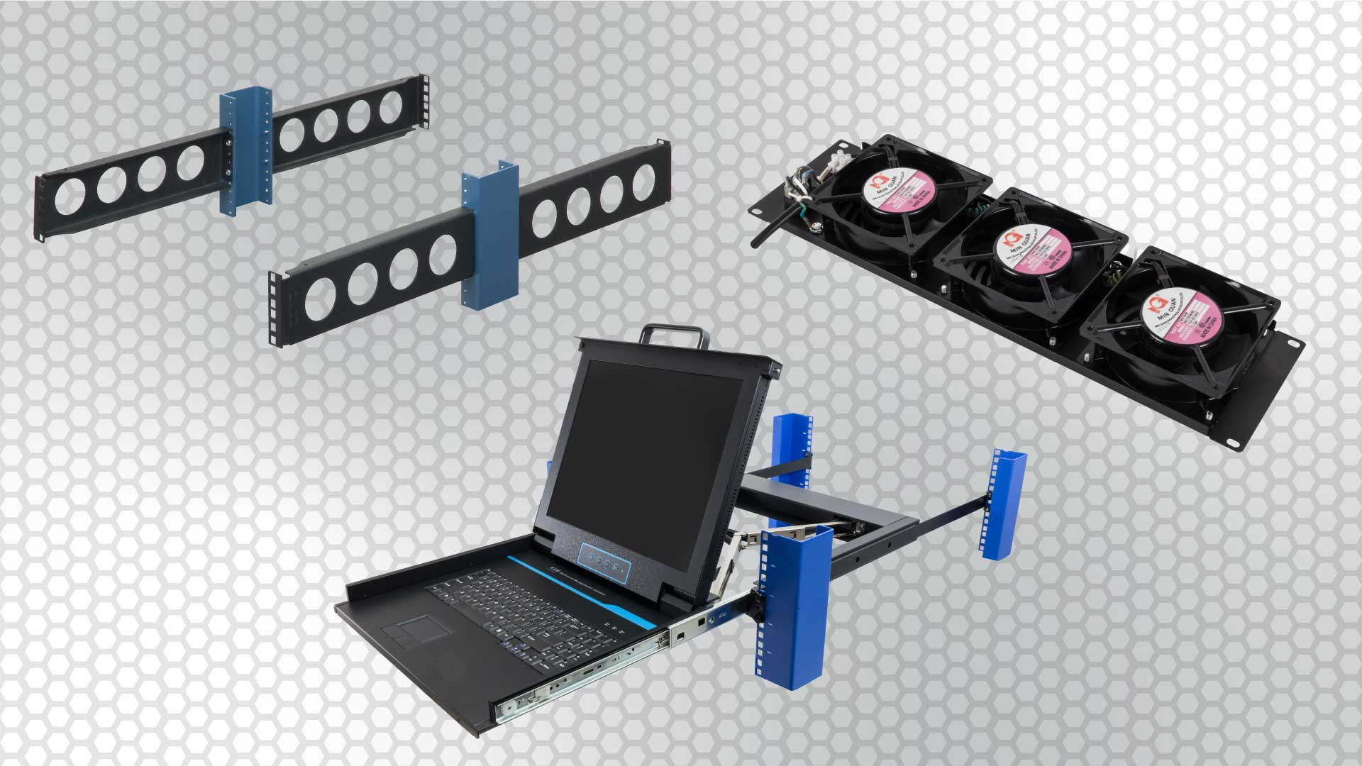 top server rack accessories