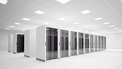 white data center