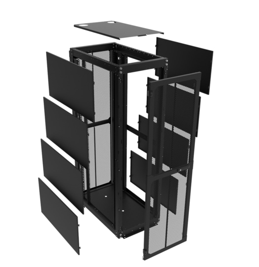 RackSolutions' 151DC Data Center Cabinet