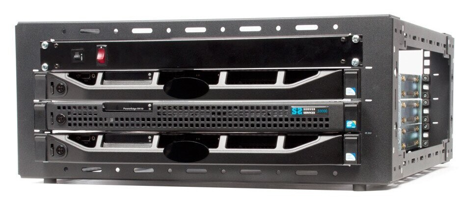 small server rack for home or office