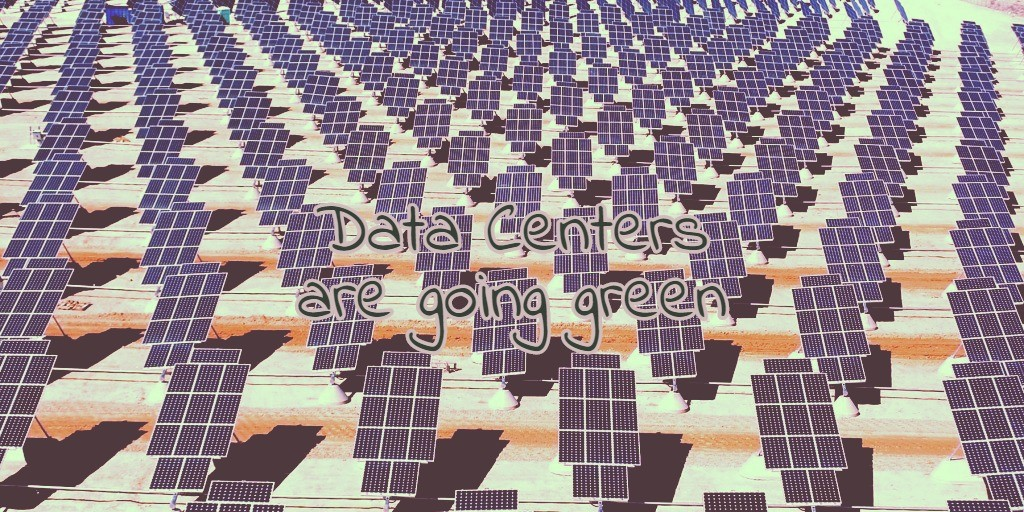 Data Centers Are Going Green - RackSolutions