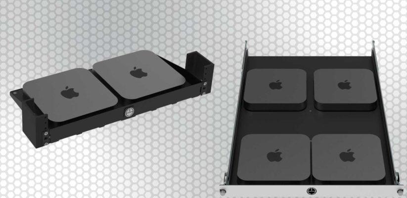 Mac Mini Rack Shelves