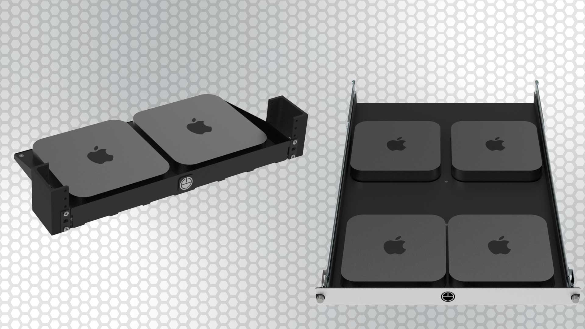 How to rack mount multiple Mac Minis