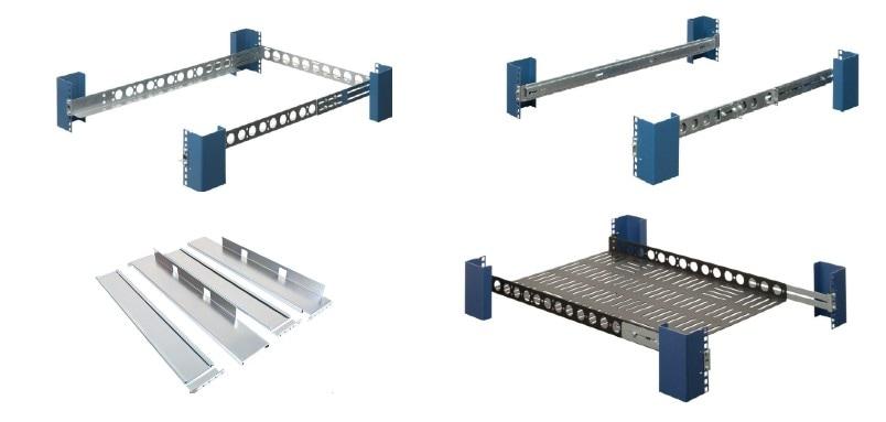Mounting equipment: L Bracket vs Shelf vs Rail vs Rail Kit