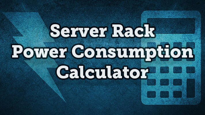 server rack power consumption calculator