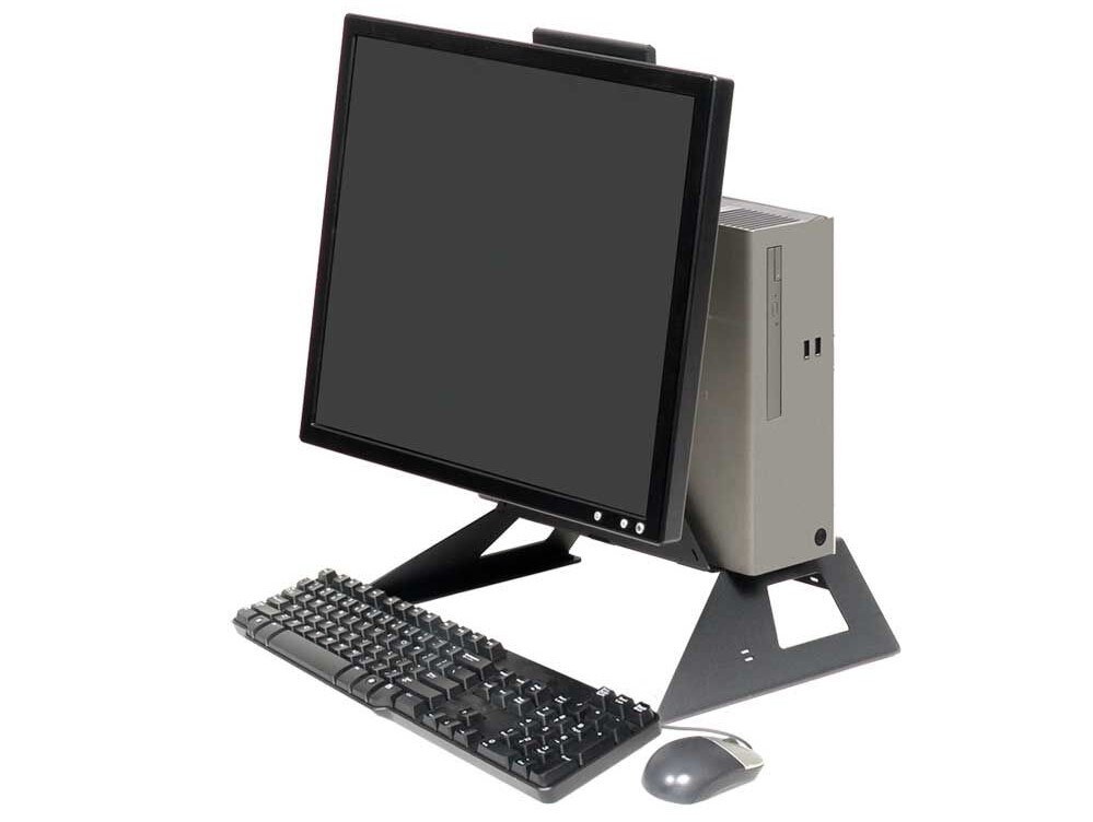 all in one sff pc mount monitor
