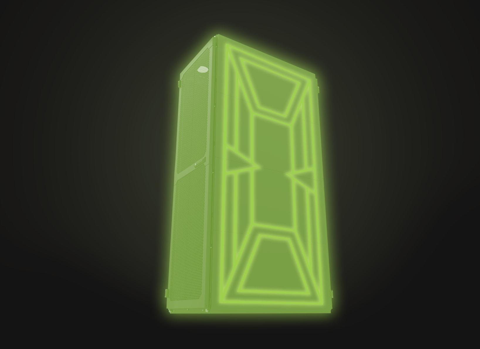 151 Glow Rack Black Rev3