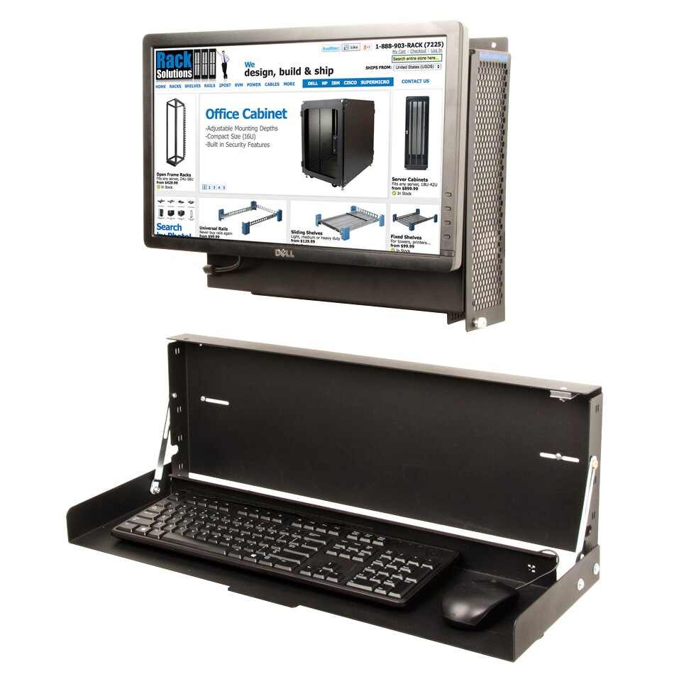 Rack Solutions Keyboard Tray Featured In Processor Magazine