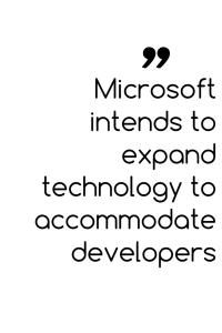 Microsoft-accomodate-developers